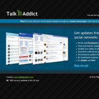 talkaddict.com in 2010